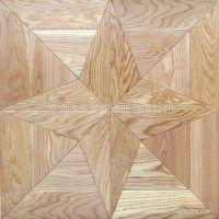 供应厂家直销优质橡木实木艺术拼花地板