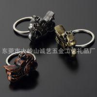 创意个性仿真摩托车金属钥匙扣 时尚精美挂件 广告促销 东莞批发