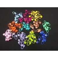 厂家直销彩色塑料记号别扣 针织用针编织工具批发 价格请联系店主