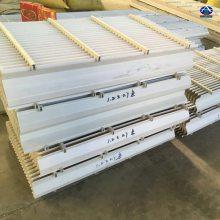 喷淋塔填料上面除雾器图片 PVC除雾器组装图 圆形150-30捕水器 【河北华强】