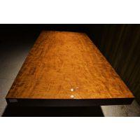 巴花大板桌实木老板桌办公桌大班台茶桌红木会议桌餐桌画案