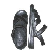 新款上市 防静电TPU女款凉鞋 加固边黑色静电工鞋 工作鞋厂家直销