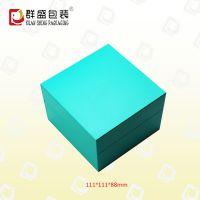 深圳包装盒厂家 蓝色纸质 时尚礼品盒 LOH-455