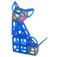 贝磁 78件智多星套装磁力建构片百变提拉儿童益智玩具磁性积木高品质磁力片