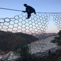 包塑勾花网 边坡绿化铁丝网 煤矿架顶支护网 院墙隔离勾花网