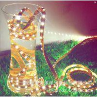 LED灌胶防水灯带 LED贴片5050低压灯条 LED户外照明灯带 高亮