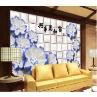 3D玉石背景墙制作设备 彩雕背景墙打印机厂家