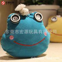 可来图开发设计毛绒玩具青蛙  定制毛绒手工青蛙 来样定做大眼蛙