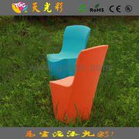 畅销款 酒店餐厅宴会椅 西餐厅椅子 快餐厅餐椅 户外彩色塑料家具