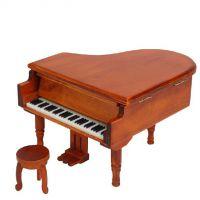 迷你创意个性男友特别刻字八音盒木质钢琴音乐盒发条式女生礼物