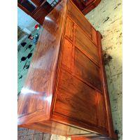 名琢世家刺猬紫檀花梨木古典中式餐边柜1.53米价格图片