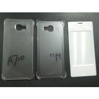 三星A7升级版A710皮套透明磨砂PC素材