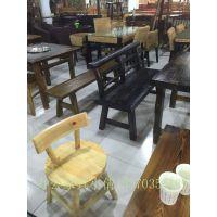 天津炭烧木餐桌椅,餐桌椅尺寸订做,优质板材餐桌椅