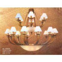 中元之光特别推荐欧式家居吊灯精美奢华吊灯精致美式铜灯法式灯