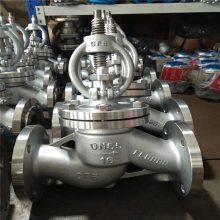 J41F46-16C DN125 衬四氟截止阀 衬塑手动调节阀、法兰衬氟截止阀