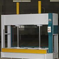 供应室内门 免漆门全自动液压式 50T冷压机 祥博木工压板机