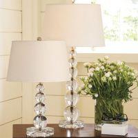 美式布艺led台灯 卧室床头客厅书房灯具 简约现代创意家居装饰灯