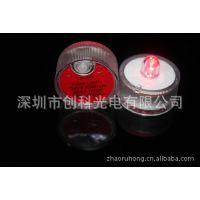 单色防水蜡烛灯,七彩发光防水灯 LED发光潜水灯,电子塑料潜水灯
