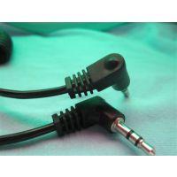 厂家直销单声道,双声道,三声道插头线,耳机线。