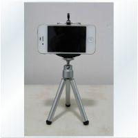 iPhone4 5s苹果三星小米2s便携三角架迷你支架三脚架夹子手机通用