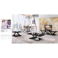 简约美式家具、钢化玻璃不锈钢家具、现代产品电视柜加工厂。