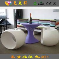 【外贸原单】酒店餐厅等候区塑料椅子凳子 休闲家具专业生产厂家