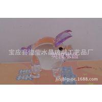 水晶迷你猪家居装饰品小摆件商务礼品促销奖品生日礼品玻璃工艺品