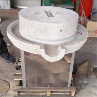 不同直径电动石磨 小型商用磨酱专用电动石磨 【鼎达牌】