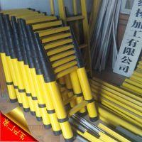 厂家生产玻璃钢鱼竿梯子|绝缘人字梯|电工绝缘梯|玻璃钢单梯