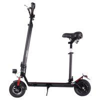 酷车e族电动滑板车 成人电动折叠车 迷你电动便捷代步车 锂电池电瓶自行车 带座椅