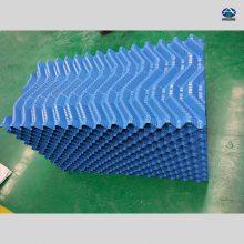 冷却塔填料1立方多少钱?S波填料多钱一吨 片厚0.4mmPVC淋水片 河北华强