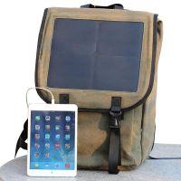 国瑞阳光供应户外运动双肩商务背包 太阳能充电户外涤纶背包