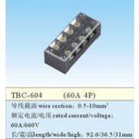 品哲工控 大电流接线端子 固定式 TBC-604 60A/4P