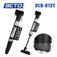 【CLD-012T】BETO 单冲程摇摆头铝合金迷你型打气筒