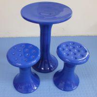 模具设计 开发制作 注塑模具 塑料圆豉桌凳模具 塑料钓鱼圆豉凳