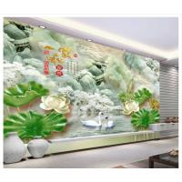 精雕背景墙UV平板打印机厂家——济南赢彩背景墙打印机高精度完美彩印