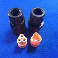 yongyu防水接头 公母对接式防水插头 连接器 3芯IP68