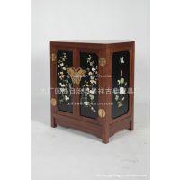 韩国柜 蝴蝶柜 玉石镶嵌家具 仿古典家具 实木家具 古典家具厂