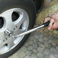 一件代发 汽车用轮胎扳手 御胎维修工具 不锈钢套筒扳手 四种规格