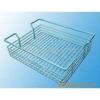 供应超市喷塑网篮,网片,金属蓝