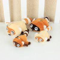 夏季批发 小号浣熊手机挂件 卡通创意毛绒玩具公仔玩偶礼品招代理