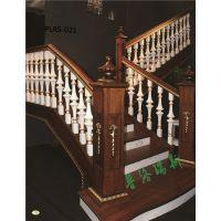 普洛瑞斯实木楼梯打造家居香格里拉