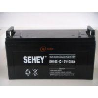西力蓄电池SH100-12 西力蓄电池12V100AH铅酸免维护UPS蓄电池原装