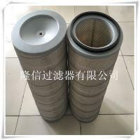 隆信供应350*240*660护网形除尘滤芯喷砂除尘滤芯除尘滤筒