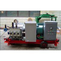 河北供应三缸大流量电动打压泵|管道试压泵|气动试压泵现货供应