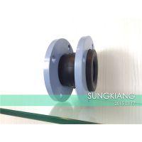 酸性水处理橡胶球型软连接_上海淞江gao端工程专用