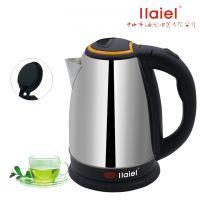 电热烧水壶随手泡茶壶食品级不锈钢水壶1.5/1.8LL快速电热水壶