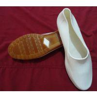 厂家轻便雨鞋 食品专用雨靴 低帮元宝白色耐酸碱雨鞋