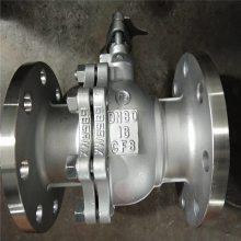铸钢Q347F-40C DN200 Q347F-40C DN200 固定锻钢高压球阀_化工机械设备