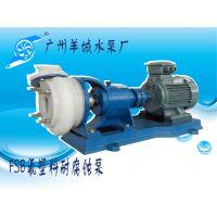 羊城牌 氟塑料耐腐蚀泵 80FSB-30 强酸碱泵 广州羊城水泵厂地址 清远水泵厂